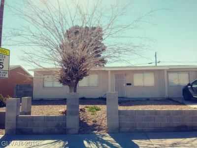North Las Vegas Single Family Home For Sale: 433 Duke Avenue
