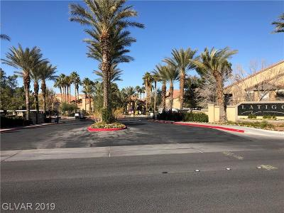 Condo/Townhouse Under Contract - No Show: 2300 Silverado Ranch Boulevard #2018