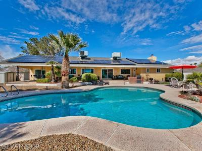 Las Vegas Single Family Home For Sale: 3165 Viking Road
