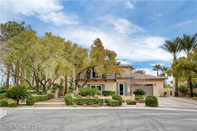 LAS VEGAS Single Family Home For Sale: 1300 Mersault Court
