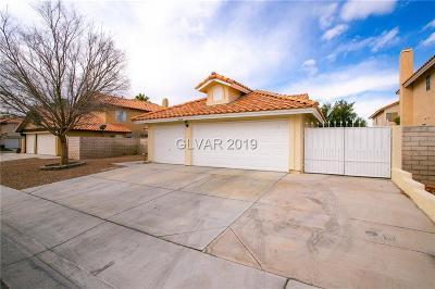 North Las Vegas Single Family Home For Sale: 5629 Farpoint Road