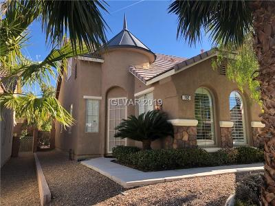 Henderson Single Family Home For Sale: 782 Rise Canyon Drive