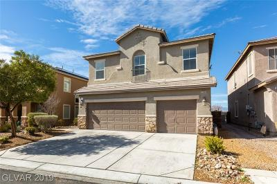 North Las Vegas Single Family Home For Sale: 6309 Green Heron Street