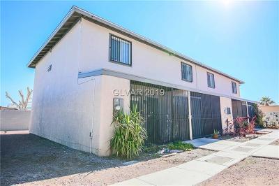 Las Vegas Condo/Townhouse For Sale: 3504 Rio Robles Drive #D