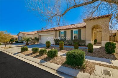 Las Vegas Single Family Home For Sale: 7471 Burnt Oak Avenue