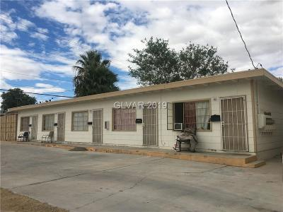 Las Vegas Multi Family Home For Sale: 1011 Bridger Avenue