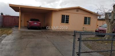 North Las Vegas Single Family Home For Sale: 3043 Crawford Street