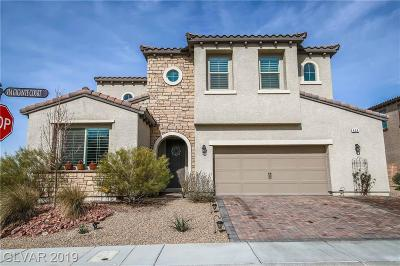 Henderson NV Single Family Home For Sale: $629,900