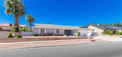 Boulder City Single Family Home For Sale: 1554 Georgia Avenue