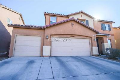 North Las Vegas Single Family Home For Sale: 6208 Craters Edge Street