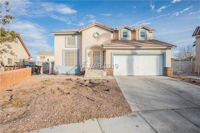 North Las Vegas Single Family Home For Sale: 3612 Russian Olive Street