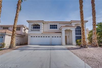 Las Vegas Single Family Home For Sale: 9776 Whitewater Canyon Court
