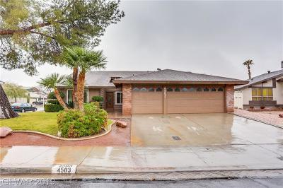 Las Vegas Single Family Home For Sale: 4503 Fernbrook Road