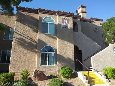 Condo/Townhouse Under Contract - No Show: 9325 West Desert Inn Road #102