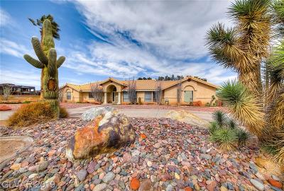 Las Vegas Single Family Home For Sale: 3320 Torino Avenue