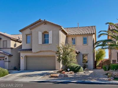 North Las Vegas Single Family Home For Sale: 3933 Buteo Lane
