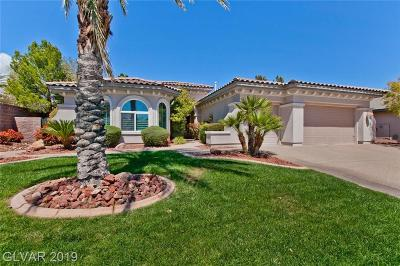 Las Vegas Single Family Home For Sale: 10912 Keymar Drive
