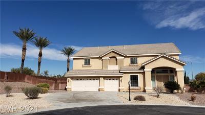 Las Vegas Single Family Home For Sale: 4798 Luna Ridge Court
