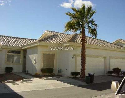 NORTH LAS VEGAS Condo/Townhouse For Sale: 4767 Wild Draw Drive