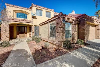Las Vegas, North Las Vegas, Henderson Single Family Home For Sale: 8432 Bay Crest Drive