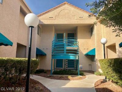 Las Vegas Condo/Townhouse Under Contract - No Show: 4425 Woodpine Drive #204