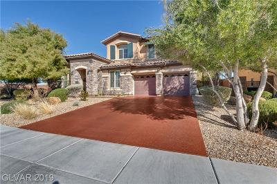 Las Vegas Single Family Home For Sale: 9706 Crestline Heights Court