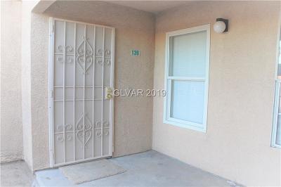Las Vegas Condo/Townhouse For Sale: 1830 Pecos Road #139