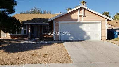 Las Vegas, North Las Vegas, Henderson Single Family Home For Sale: 6720 Papyrus Circle