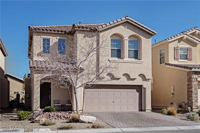 Las Vegas Single Family Home For Sale: 38 Tribute Peak Way