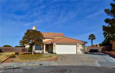 Henderson Single Family Home For Sale: 236 Night Fall Terrace
