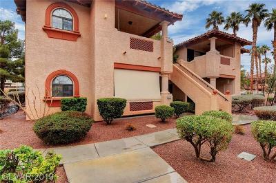 Las Vegas NV Condo/Townhouse For Sale: $149,000