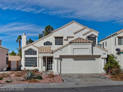 Las Vegas Single Family Home For Sale: 8420 Oyster Drive