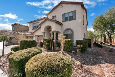North Las Vegas Single Family Home For Sale: 7017 Puetollano Drive