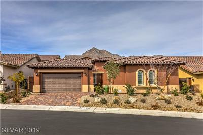 Las Vegas Single Family Home For Sale: 269 Lindura Court
