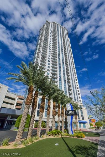 Allure Condo High Rise Under Contract - No Show: 200 West Sahara Avenue #1603