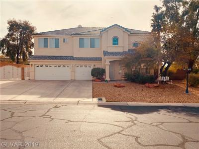 Las Vegas Single Family Home For Sale: 6623 Secluded Avenue