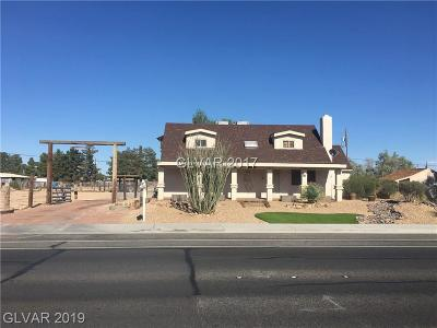 North Las Vegas Single Family Home For Sale: 5680 Jones Boulevard