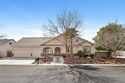 Las Vegas Single Family Home For Sale: 7301 Bachelors Button Drive