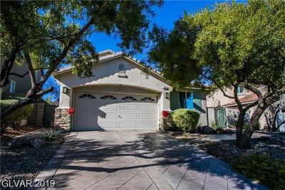 Henderson Single Family Home For Sale: 215 Sunset Shower Drive