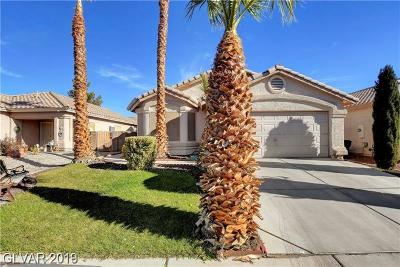 North Las Vegas Single Family Home For Sale: 4540 Possum Berry Lane