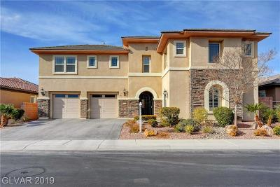 Las Vegas Single Family Home For Sale: 8425 Killians Greens Drive