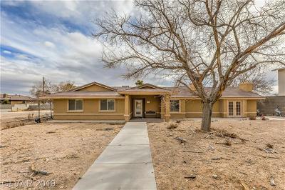 Single Family Home For Sale: 8625 Hammer Lane