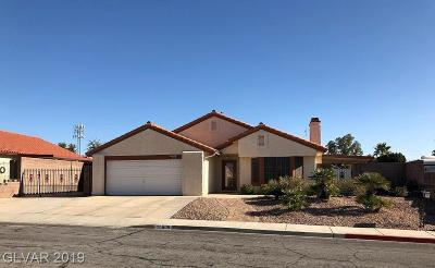 Boulder City Single Family Home For Sale: 609 Del Prado Drive