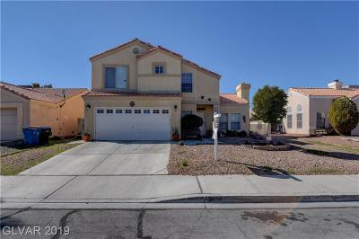 North Las Vegas Single Family Home For Sale: 3437 Booth Street