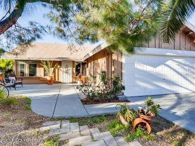 Henderson Single Family Home Under Contract - No Show: 3146 Floral Vista Avenue