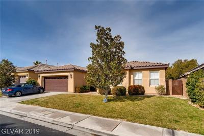 Las Vegas Single Family Home For Sale: 4472 Vicobello Avenue