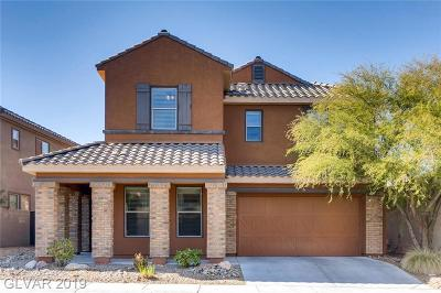 Henderson Single Family Home For Sale: 1057 Via Canale Drive