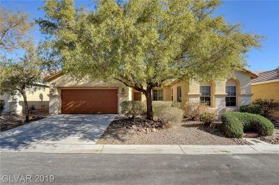 North Las Vegas Single Family Home For Sale: 6050 Daisy Run Court