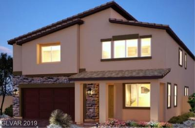 Las Vegas Single Family Home For Sale: 5308 Jade Crystal Avenue #Lot 54