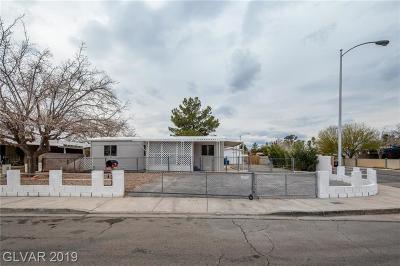 Las Vegas Single Family Home Under Contract - No Show: 3579 Becerro Drive